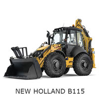 Экскаватор New Holland LB115 01